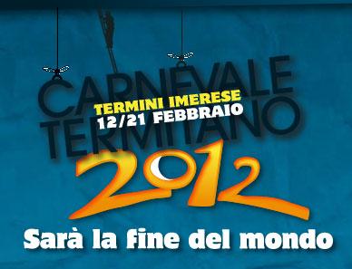 Carnevale di Termini Imerese 2012 - manifesto