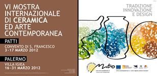 Mostra di ceramica e arte contemporanea a Palermo - circuito del mito 2012