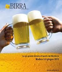 Programma di Si birra insieme, a Modica il 2 e 3 giugno 2012