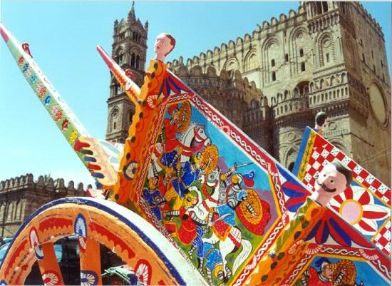 Carretto siciliano - fotografia da picasasicilia.blogspot.it