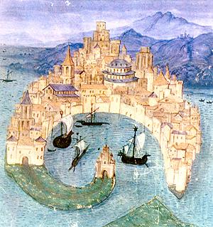 Miniatura medievale di Messina- tratta da sergiopalumbo.com