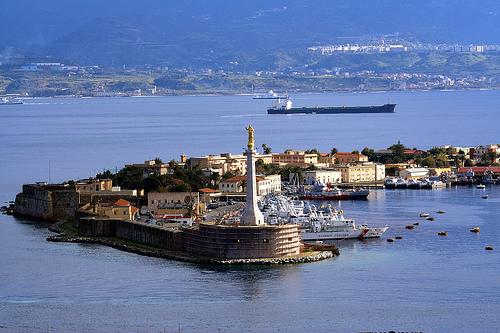 Porto di Messina - tratta da dipity.com