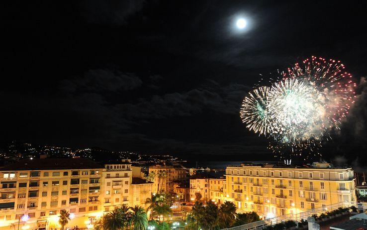 I fuochi d'artificio a Palermo, da tg24.sky.it