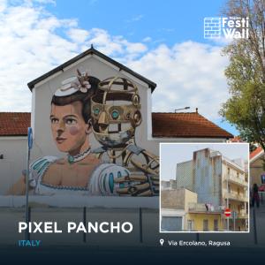 festiwall Pixel Pancho
